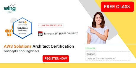 Amazon AWS Solution Architect Certification For Beginners & Q/A tickets