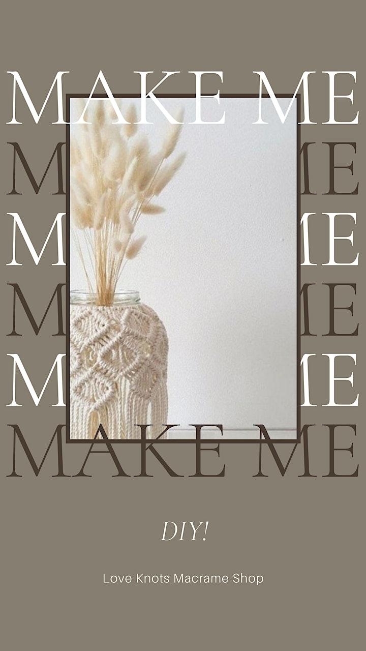 MacArthur's Macramé Vase Workshop image