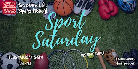 Sport Saturday at Uni Hall tickets