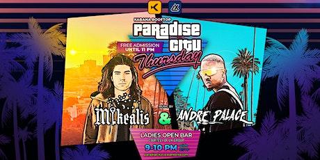 Paradise City at Kabana Rooftop tickets