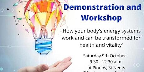 Energy Medicine Workshop and Demontration tickets