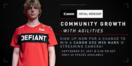 Canon Virtual Workshop with Agilities ingressos