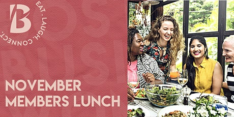 November Members Only Lunch tickets