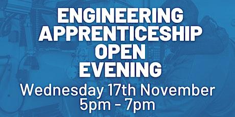 Engineering Apprenticeship Open Event tickets