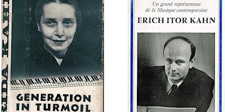 Konzert zu Ehren von Frida und Erich Itor Kahn Tickets