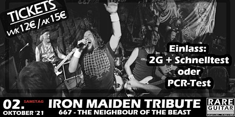 Iron Maiden Tribute - 667 The Neighbour Of The Beast Tickets