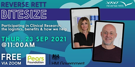 Participating in Clinical Research: the logistics & how Reverse Rett helps tickets