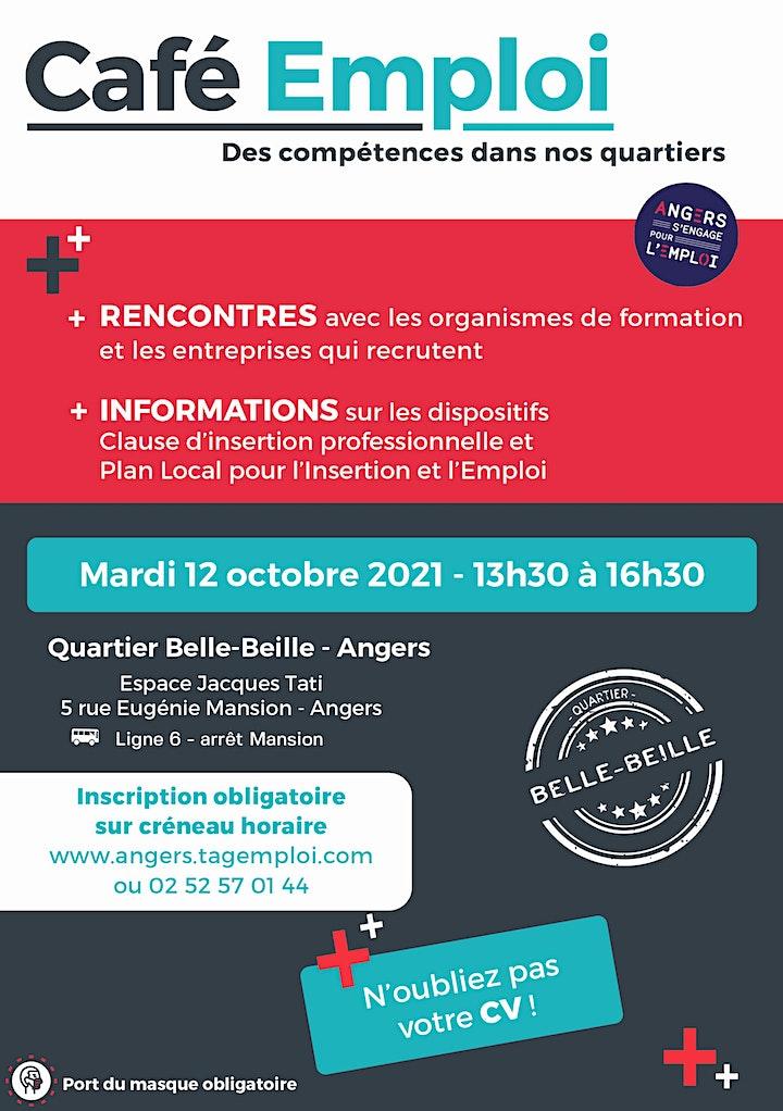 Image pour Café Emploi - Des compétences dans nos quartiers  12/10/2021