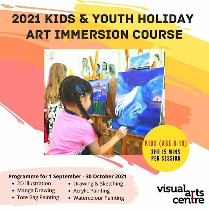 Holiday Art Immersion Course for Kids ages 8 to 10 (4 Sessions) image