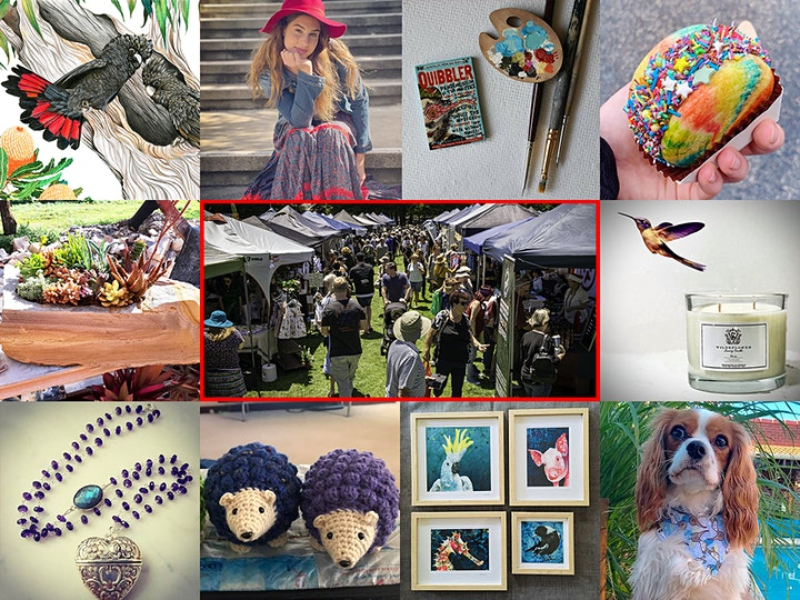 Made on the Left 2021 Christmas Market image