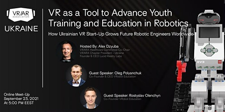 VR as a Tool to Advance Youth Training and Education in Robotics tickets