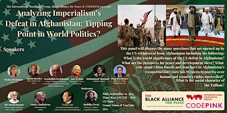 Imperialism's Defeat in Afghanistan: A Tipping Point in World Politics? entradas