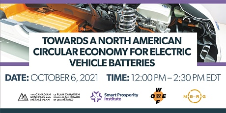 Towards a North American Circular Economy for Electric Vehicle Batteries tickets