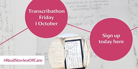 Transcribathon Autumn 2021 Voices Through Time:  The Story of Care tickets