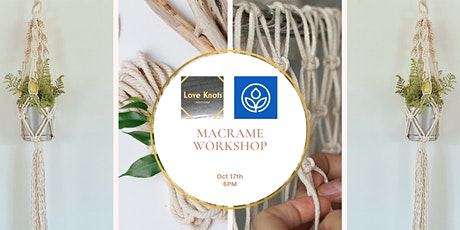 MacArthur's Macramé Plant Hanger Workshop tickets