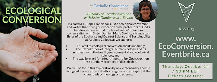 Ecological Conversion with Sister Damien Marie Savino image