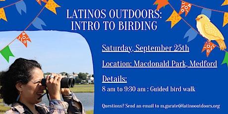 LO Eastern Massachusetts   Intro to Birding tickets
