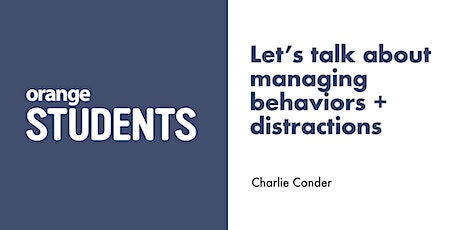 Let's talk about managing behaviors + disruptions tickets