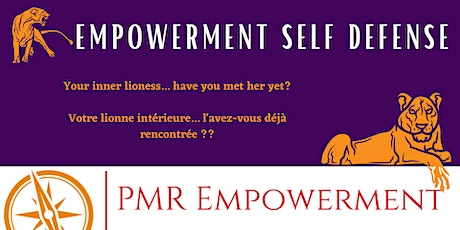 Empowerment  Self Defense Course tickets