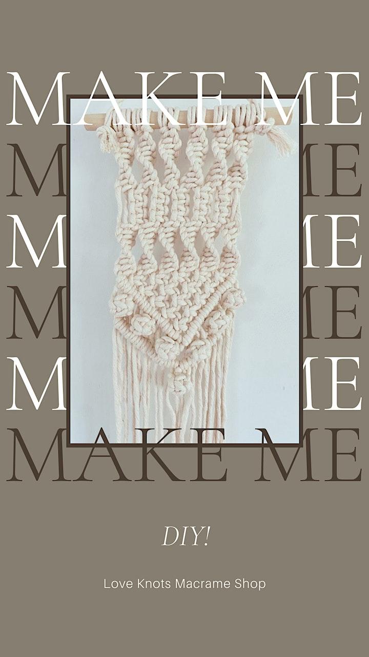 MacArthur's Macramé Wall Hanging Workshop image