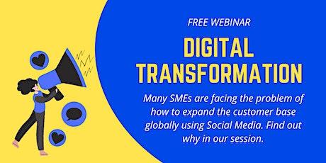 Free Webinar: Digital Transformation tickets