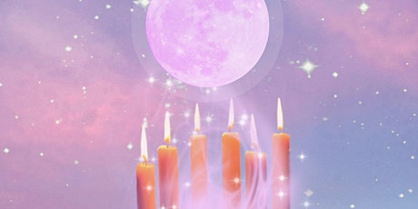 Witchy Manifestation Spell & Candle Gazing at Moon Goddess Studio tickets