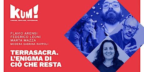 KUM!Festival 2021 - FLAVIO ARENSI, FEDERICO LEONI e MARTA MAZZA biglietti