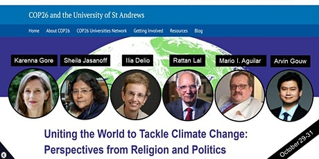 COP26: Uniting the World to Tackle Climate Change tickets
