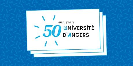 Soirée Partenaires et Alumnis - 50 ans de l'Université d'Angers billets