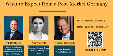 What to Expect from a Post-Merkel Germany tickets
