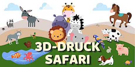 FabLabKids: 3D-Druck - Tier-Safari (8-14 Jahre) Tickets