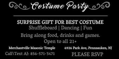 Merchantville Square Club Halloween Party tickets