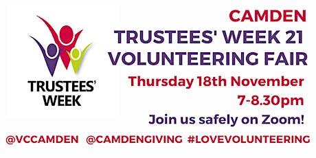 Camden Trustees' Week 2021 Volunteering Fair tickets