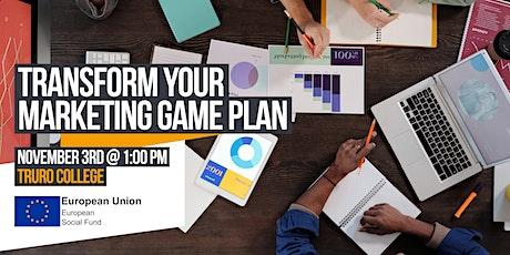 Transform Your Marketing Game Plan tickets