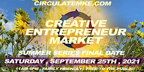 CirculateMKE Creative Entrepreneur Market tickets