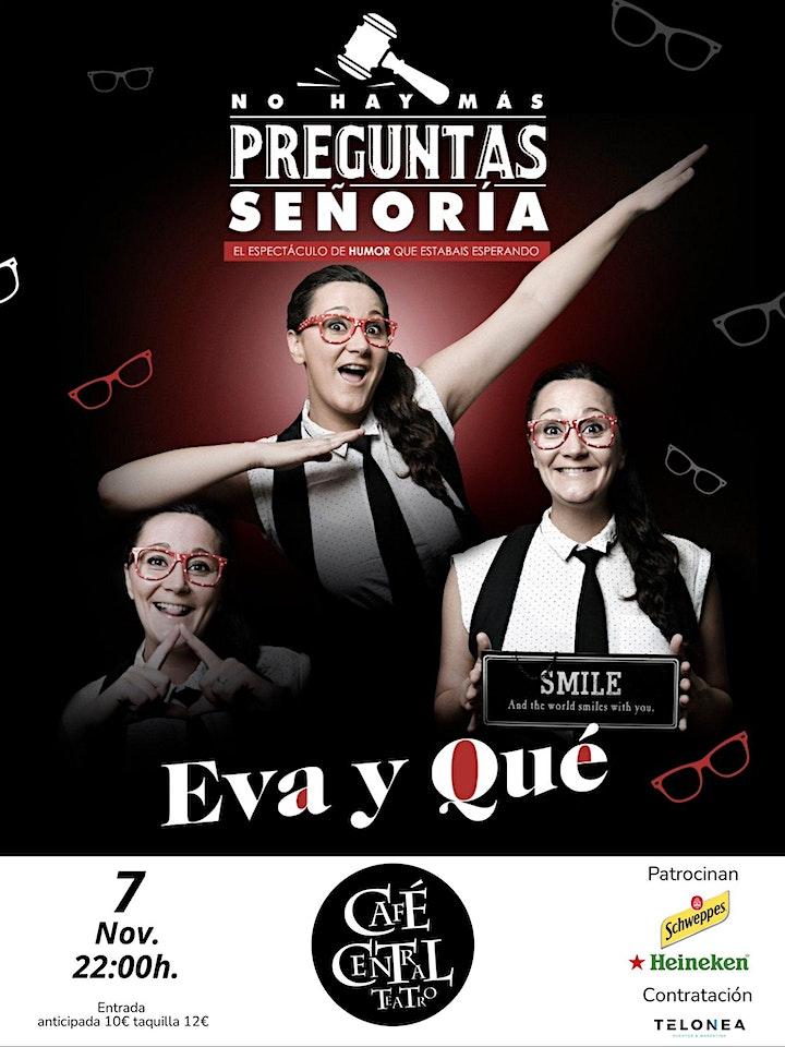 Imagen de EVA y  QUÉ en Café Teatro Central