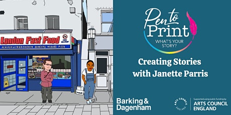 Pen to Print: Creating Stories with Janette Parris tickets