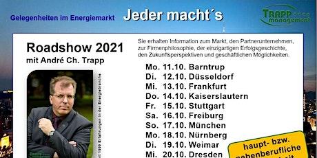 ROADSHOW 2021 - Gelegenheiten im Energiemarkt Tickets