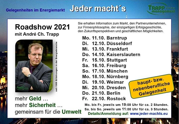 ROADSHOW 2021 - Gelegenheiten im Energiemarkt: Bild