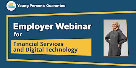Young Person's Guarantee Employer Webinar - Financial Services/Digital Tech tickets
