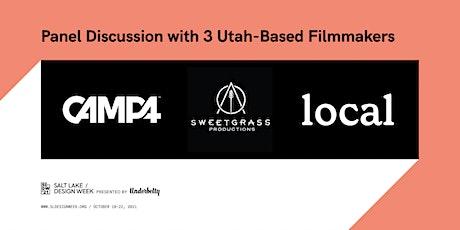 Salt Lake Design Week Panel Discussion with 3 Utah-Based Filmmakers tickets