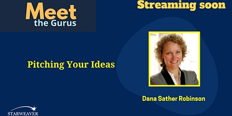 Pitching Your Ideas tickets