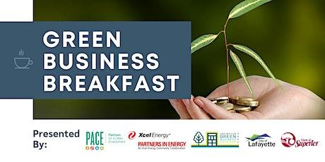 Green Business Breakfast tickets