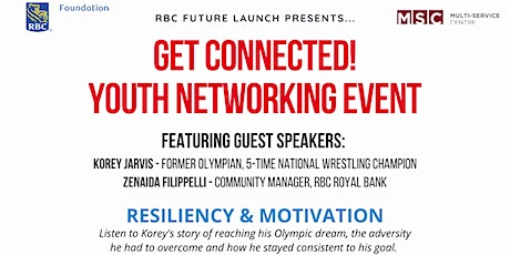 RBC GET CONNECTED Youth Networking Event tickets
