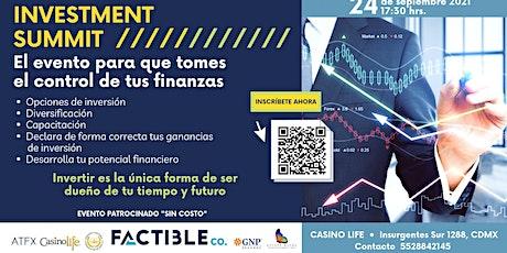 FACTIBLE Investment Summit boletos