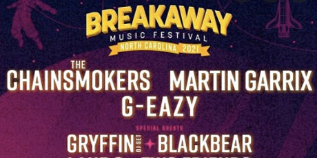 Breakaway Music Festival NC tickets