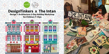 DesignTinkers  x  The Intan : Design + Architecture  2-Day Holiday Workshop tickets
