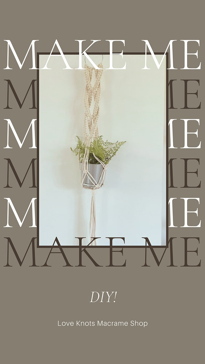 MacArthur's Macramé Plant Hanger Workshop image