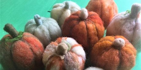 Needlefelting Pumpkins tickets