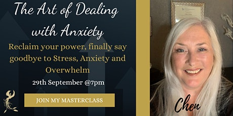 The Art of Dealing with Anxiety tickets